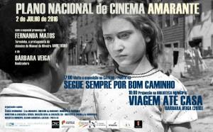 """Teresinha (Fernanda Matos) visitou a (sua) exposição """"Segue sempre por bom caminho"""""""