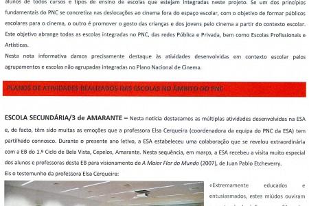 As iniciativas do PNC ESA em destaque no boletim de maio do PNC