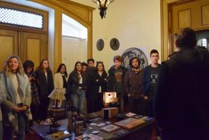 Visita à Casa Museu de Vilar 12 AV CLH1 CT1 7 FEV 012
