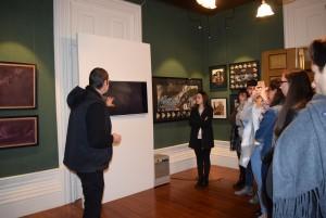 Visita à Casa Museu de Vilar 12 AV CLH1 CT1 7 FEV 161