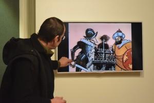Visita à Casa Museu de Vilar 12 AV CLH1 CT1 7 FEV 172