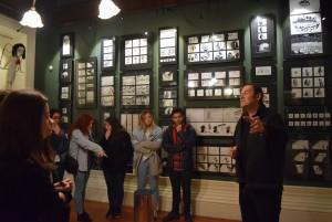 Visita à Casa Museu de Vilar 12 AV CLH1 CT1 7 FEV 190