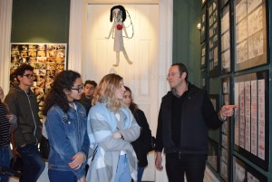 Visita à Casa Museu de Vilar 12 AV CLH1 CT1 7 FEV 207