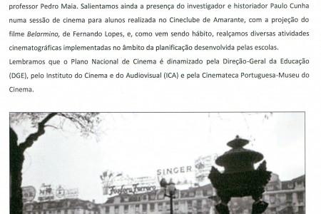 Uma das iniciativas do PNC ESA em destaque no boletim de Janeiro do PNC