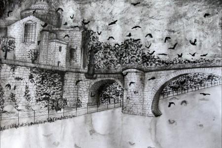 """""""A outra Margem"""" escrita por Carina Lopes e desenhada por Bárbara Moura"""