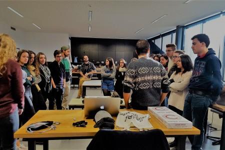 Workshop de Animação 2 D na ESA