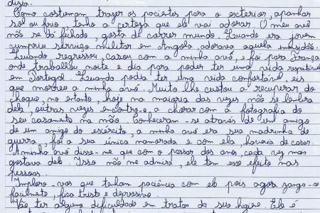 Carta do neto Afonso ao Diretor de um Lar. Porque os avós também sonham dentro e fora de filmes…