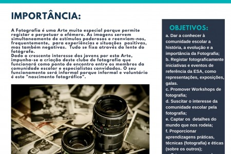 "PNC auxilia num ""parto fotográfico"": Clube de Fotografia"