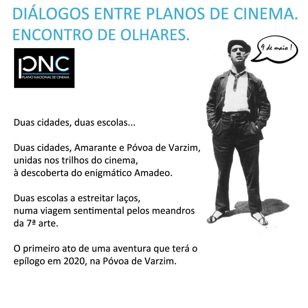 Diálogos entre Planos de Cinema. Encontro de olhares.