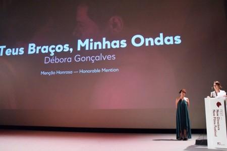 Débora Gonçalves premiada no Fest – New Directors News Films Festival