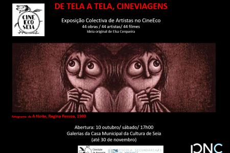 """Exposição """"De Tela a Tela, Cineviagens"""" no Festival CineEco"""